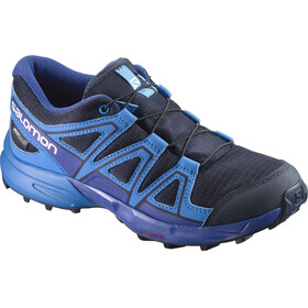 Salomon Speedcross CS WP Trailrunning Shoes Juniors Navy Blazer/Indigo Bunting/Surf The Web